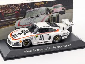Porsche 935 K3 #41 Winner 24 LeMans 1979 Kremer Racing 1:43 Spark