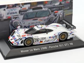 Porsche 911 GT1 #26 Winner 24h LeMans 1998 McNish, Aiello, Ortelli 1:43 Spark
