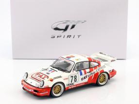 Porsche 911 Carrera RSR #78 2nd GT Class 24h LeMans 1993 Pareja, Leconte, Thoisy 1:18 GT-SPIRIT