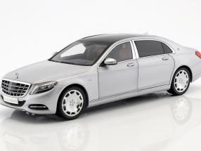 Mercedes-Benz Maybach S-Class year 2016 iridium silver 1:18 Almost Real