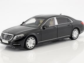 Mercedes-Benz Maybach S-Klasse Baujahr 2016 obsidian schwarz 1:18 Almost Real
