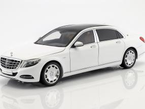 Mercedes-Benz Maybach S-Klasse Baujahr 2016 diamant weiß 1:18 Almost Real