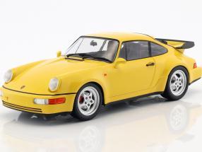 Porsche 911 (964) Turbo year 1990 yellow 1:18 Minichamps