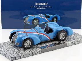 Delahaye Type 145 V-12 Grand Prix Year 1937 blue 1:18 Minichamps