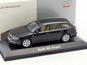Audi A6 Avant 2004 black 1:43 Minichamps