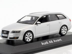 Audi A6 Avant 2004 silver metallic 1:43 Minichamps