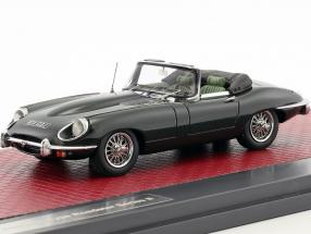 Jaguar E-Type SII Roadster Baujahr 1970 dunkelgrün metallic 1:43 Matrix