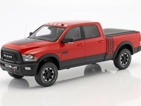 Dodge RAM Power Wagon year 2017 flame red 1:18 GT-Spirit