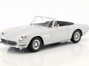 Ferrari 275 GTS/4 Pininfarina Spyder with spoke rims year 1964 silver 1:18 KK-Scale