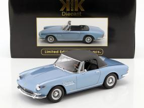 Ferrari 275 GTS/4 Pininfarina Spyder with spoke rims year 1964 light blue metallic 1:18 KK-Scale