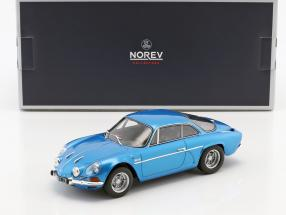 Alpine Renault A110 1600S year 1971 blue metallic 1:18 Norev