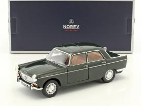 Peugeot 404 year 1965 antique green 1:18 Norev