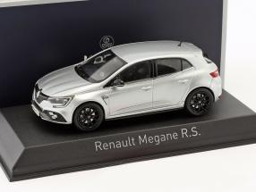 Renault Megane R.S. Baujahr 2018 platin silber 1:43 Norev