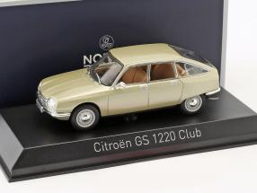 Citroen GS 1220 Club year 1973 tholonet beige metallic 1:43 Norev