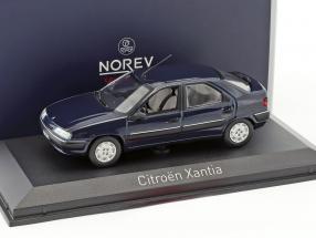 Citroen Xantia Baujahr 1993 mauritius blau 1:43 Norev