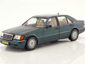 Mercedes-Benz S600 W140 Baujahr 1997 grün metallic 1:18 Norev