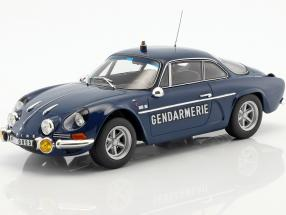 Alpine Renault A110 1600S Gendarmerie year 1971 blue 1:18 Norev