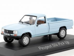 Peugeot 504 Pick Up geschlossen Baujahr 1985 hellblau 1:43 Norev