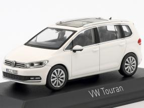 Volkswagen VW Touran year 2015 white 1:43 Norev