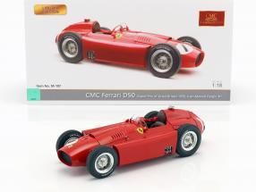 Juan Manuel Fangio Ferrari D50 #1 Winner British GP World Champion formula 1 1956 1:18 CMC