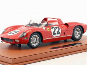 Ferrari 250 P #22 3rd 24h LeMans 1963 Parkes, Maglioli With Showcase 1:18 BBR