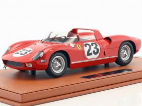 Ferrari 250 P #23 24h Le Mans 1963 Surtees, Mairesse mit Vitrine 1:18 BBR