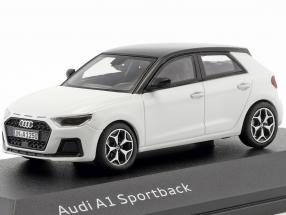 Audi A1 Sportback GB year 2018 glacier white 1:43 iScale