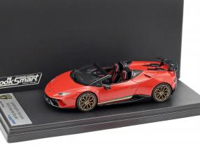 Lamborghini Huracan Performante Spyder LP 640-4 Baujahr 2017 mars rot 1:43 LookSmart