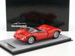 Bizzarrini P538 Spyder Press Version 1965 corsa rot 1:18 Tecnomodel