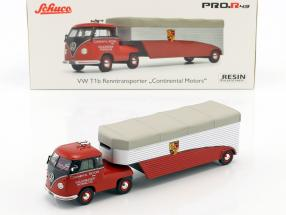 Volkswagen VW T1b Race Truck Continental Motors red 1:43 Schuco