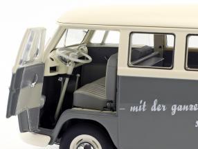 Volkswagen VW T1b Bus grau / weiß