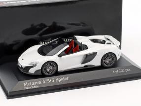 McLaren 675LT Spider silica weiß