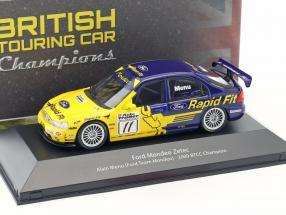 Alain Menu Ford Mondeo Zetec V6 Super Touring #11 BTCC Champion 2000 1:43 Atlas