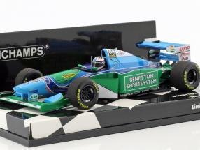 J.J. Lehto Benetton B194 #6 monaco GP formula 1 1:43 Minichamps