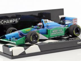 Jos Verstappen Benetton B194 #6 First Podium / 3rd Hungarian GP formula 1 1994 1:43 Minichamps