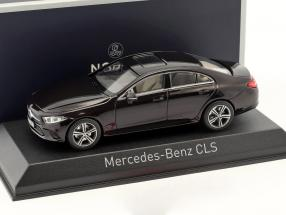 Mercedes-Benz CLS-Klasse Baujahr 2018 rubin rot metallic 1:43 Norev