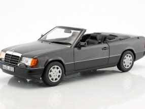 Mercedes-Benz 300 CE-24 Cabriolet year 1990 violet metallic 1:18 Norev