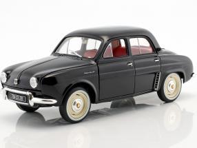 Renault Dauphine year 1958 black 1:18 Norev