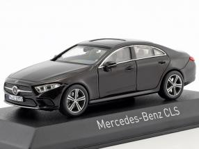 Mercedes-Benz CLS-Class year 2018 ruby red metallic 1:43 Norev