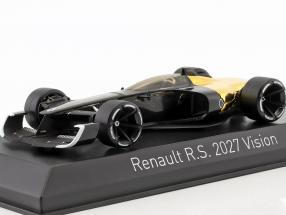 Renault R.S. 2027 Vision Salon de Shanghai 2017 black / gold 1:43 Norev
