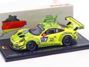 Porsche 911 (991) GT3 R #911 Manthey Pole Position 24h Nürburgring 2018 1:43 Spark