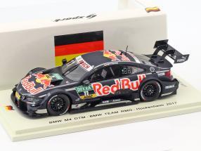 BMW M4 DTM #11 DTM Hockenheim 2017 Marco Wittmann 1:43 Spark