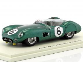 Aston Martin DBR1 #6 2nd 24h Le Mans 1959 Trintignant, Frere 1:43 Spark