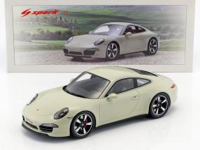 Porsche 911 (991) 50th Anniversary Edition 2013 geyser grau 1:18 Spark