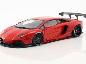 Lamborghini Aventador Liberty Walk LB-Works Baujahr 2015 rot 1:18 AUTOart