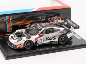 Porsche 911 (991) GT3 R #117 24h Spa 2018 KÜS Team75 Bernhard 1:43 Spark