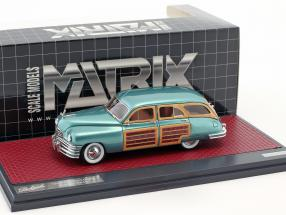 Packard Eight Station Sedan Baujahr 1948 grün metallic 1:43 Matrix