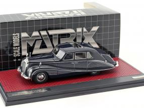Daimler DK400 Stardust Lady Docker Hooper year 1954 dark blue / silver metallic 1:43 Matrix