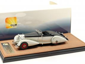 Mercedes-Benz 540K Spezial Roadster Mayfair year 1937 silver / black 1:43 GLM