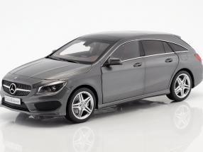 Mercedes-Benz CLA-Klasse (X117) Shooting Brake Year 2015 gray 1:18 Norev